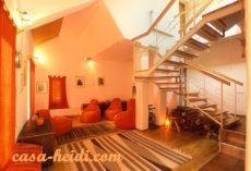 Casa Heidi, living room