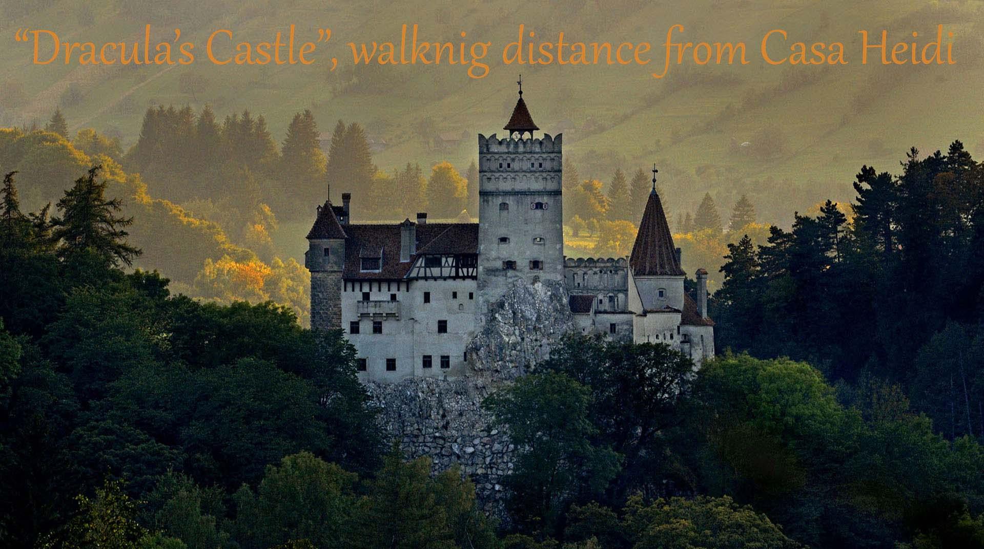 5 Dracula's Bran Castle ©Dinu Mendrea